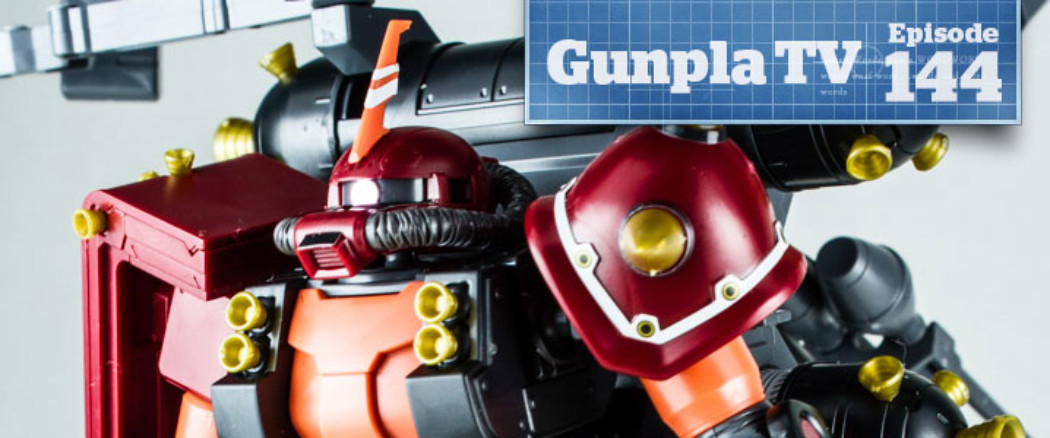 Gunpla TV – Episode 144 – MG Build Mk II – HG Thunderbolt Psycho Zaku