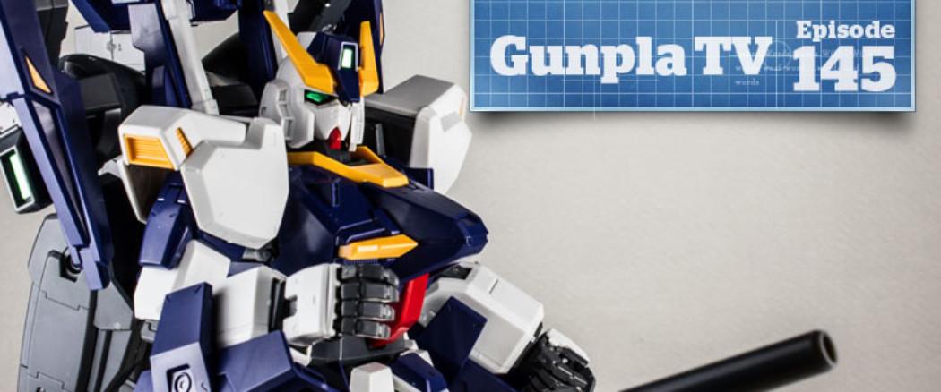 Gunpla TV – Episode 145 – MG Build Gundam Mk-II RX-178 – Damashii Kshatriya – Ma.K Super Jerry