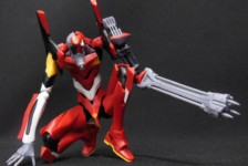 1/400 Evangelion Production Model EVA-02b (Q Ver.) by Kotobukiya (Part 2: Review)