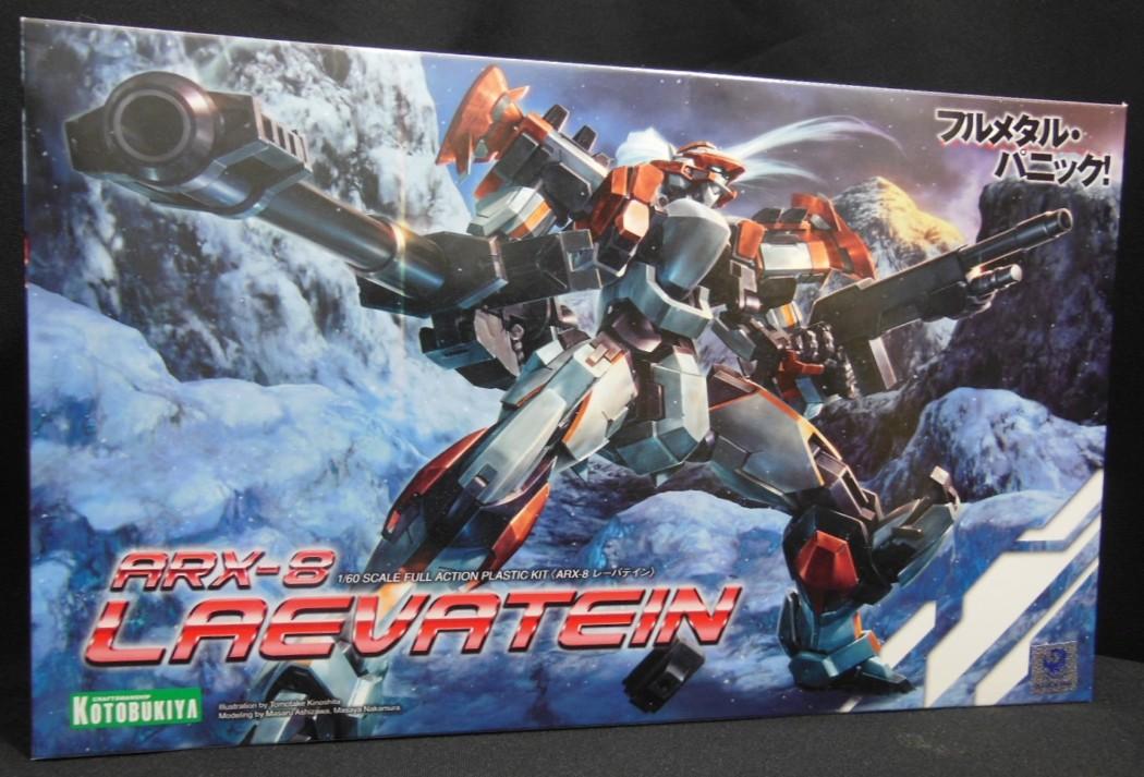1/60 ARX-8 Laevatein by Kotobukiya (Part 1: Unbox)