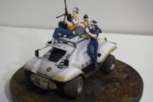 1/24 Patlabor The Movie Type 98 Command Vehicle (Renewal) by Pit-Road – Part Two: The Build