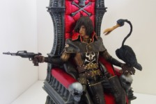 Hot Toys – 1/6 – Captain Harlock, with the Arcadian Throne