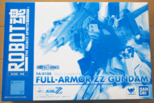 Robot Damashii Full Armor ZZ Gundam by Bandai (Part 1: Unbox)