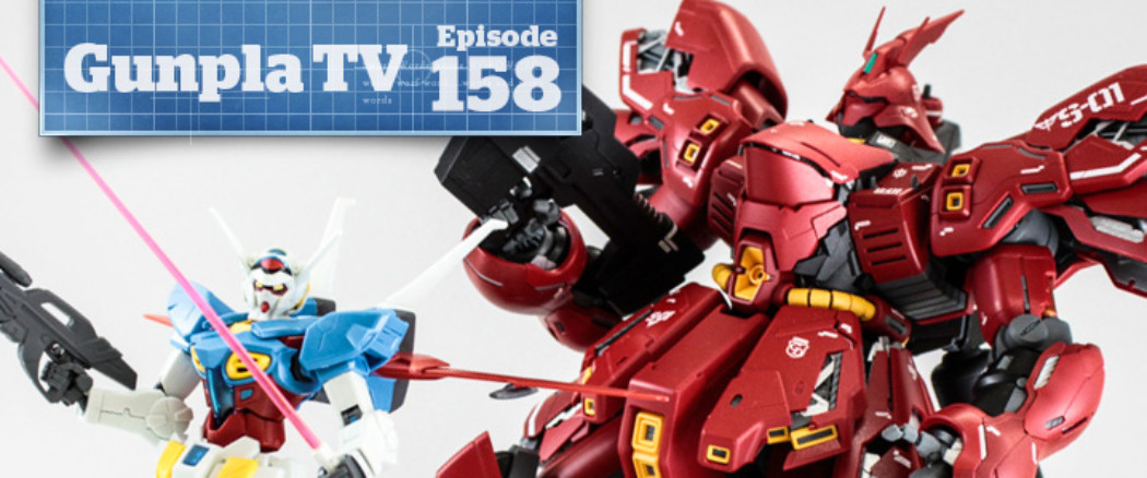 Gunpla TV – Episode 158 – HG G-Self – Zoid Preview – Giveaway!