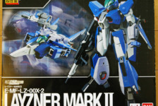 Soul of Chogokin Spec Layzner Mark II by Bandai (Part 1: Unbox)