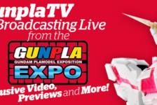 Gunpla TV – Gunpla Expo 2014 – PG Unicorn – MG Exia Dark Matter And So Much More!