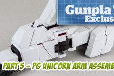 Gunpla TV Exclusive – Part 5 – PG Unicorn Gundam Arm Assembly
