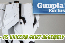 Gunpla TV Exclusive – Part 4 – PG Unicorn Gundam Leg and Skirt Assembly
