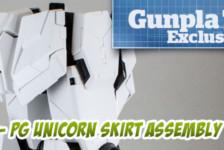 Gunpla TV Exclusive – Part 4 – PG Unicorn Gundam Leg and Skirt Assembly