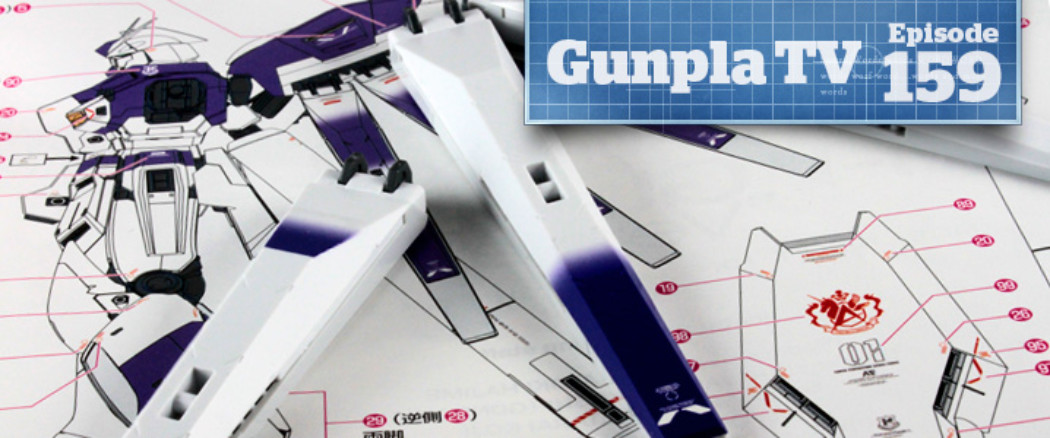 Gunpla TV – Episode 159 – MG Hi Nu Ver Ka – How to Apply Decals