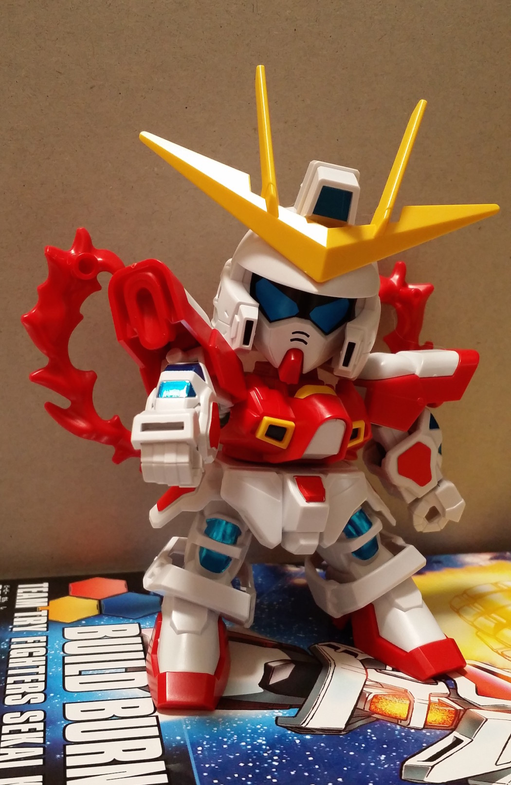 BB Senshi: Build Burning Gundam by Bandai – Build