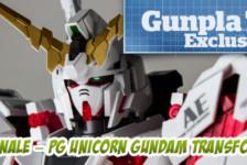 Gunpla TV Exclusive – Part 8 Finale – PG Unicorn Gundam Transformation