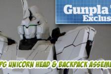 Gunpla TV Exclusive – Part 6 – PG Unicorn Gundam Head, Backpack, and Body Assembly