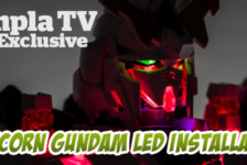 Gunpla TV Exclusive – PG Unicorn Gundam LED Installation