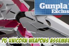 Gunpla TV Exclusive – Part 7 – PG Unicorn Gundam Weapons Assembly