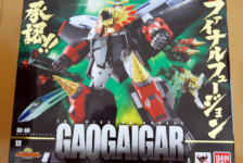 GX-68 Soul of Chogokin Gaogaigar by Bandai  (Part 1: Unbox)