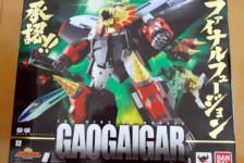 GX-68 Soul of Chogokin Gaogaigar by Bandai  (Part 1: Unbox)