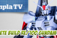 Gunpla TV Exclusive – RE/100 MK-III Complete Build!