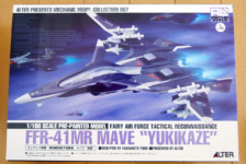 1/100 FFR-41MR Mave Yukikaze by Alter (Part 1: Unbox)