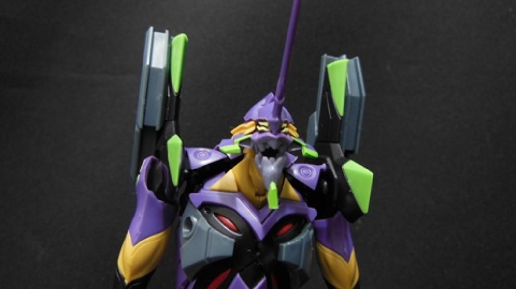 1/400 Evangelion EVA-13 by Kotobukiya (Part 2: Review)
