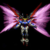 Gundam Photography Real Laser Effects Part 2: Destiny Wing Effect