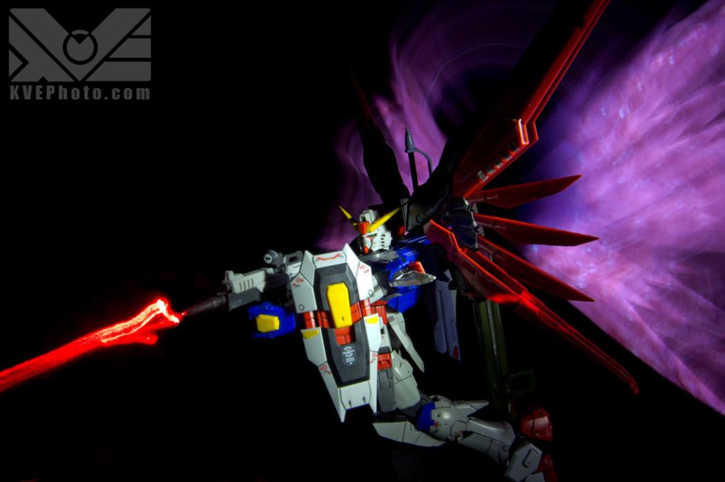 Gundam Photography Real Laser Effects Part 3: Beam Gun