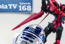 Gunpla TV – Episode 168 – MG Exia Dark Matter! Star Wars & R2-D2! KOS-MOS & RAcaseal Redria!