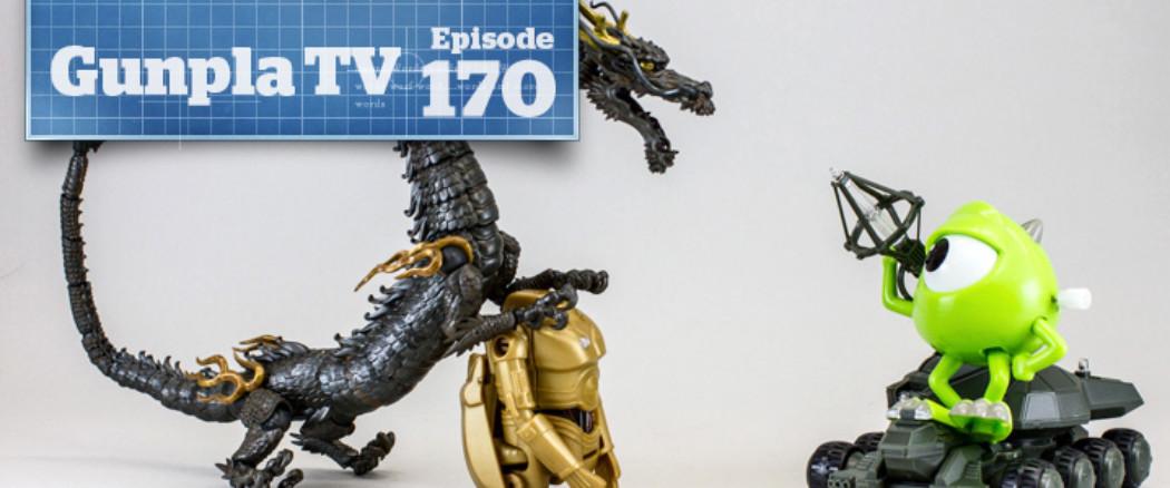 Gunpla TV – Episode 170 – New kits! Star Wars Eggs! Godzilla Tanks!