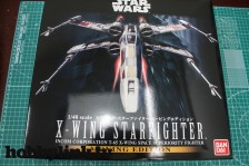 HobbyLink Unboxing – 1/48 Star Wars X-Wing Starfighter Moving Edition