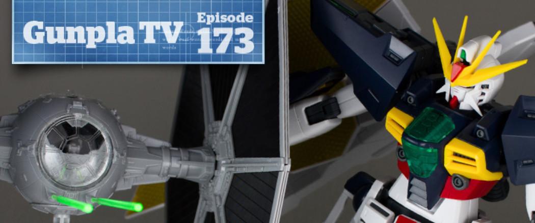 Gunpla TV – Episode 173 – TIE Fighter – Gundam Double X!