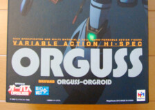 Variable Action Hi-Spec Orguss by Mega House (Part 1: Unbox)