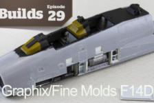 Boss Builds – Episode 29 – Model Graphix/Fine Molds F14D Collaboration Part 2!
