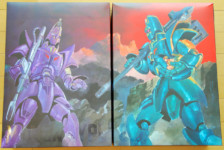 Giant Gorg and Manon Type by Sentinel (Part 1: Unbox)
