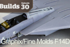 Boss Builds – Episode 30 – Model Graphix/Fine Molds F14D Collaboration Part 3!