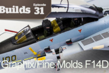 Boss Builds – Episode 31 – Model Graphix/Fine Molds F14D Collaboration Part 4!