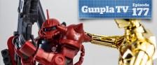 Gunpla TV – Episode 177 – MG Hyakushiki 2.0 – HG Origin Char's Zaku II!