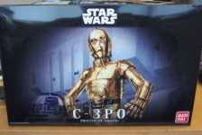 1/12 Star Wars C-3PO by Bandai – Part One: Unboxing