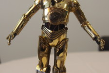1/12 Star Wars C-3PO by Bandai – Part Two: Build
