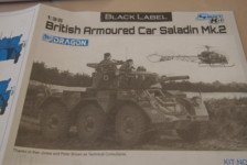 1/35 British Armored Car Saladin Mk.II by Dragon – Part One – Unboxing