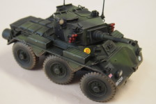 1/35 British Armored Car Saladin Mk.II by Dragon – Part Two – Build