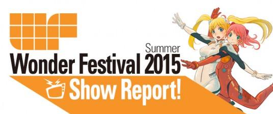 Wonder Festival 2015 Summer Part 1- Bandai, Kotobukiya MegaHouse and more!