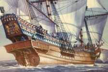 1/200 Golden Hind by Heller – Part One – Unboxing