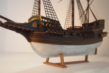 1/200 Golden Hind by Heller – Part Two – Build