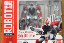 Robot Damashii Aura Battler Billbine by Bandai  (Part 1: Unbox)