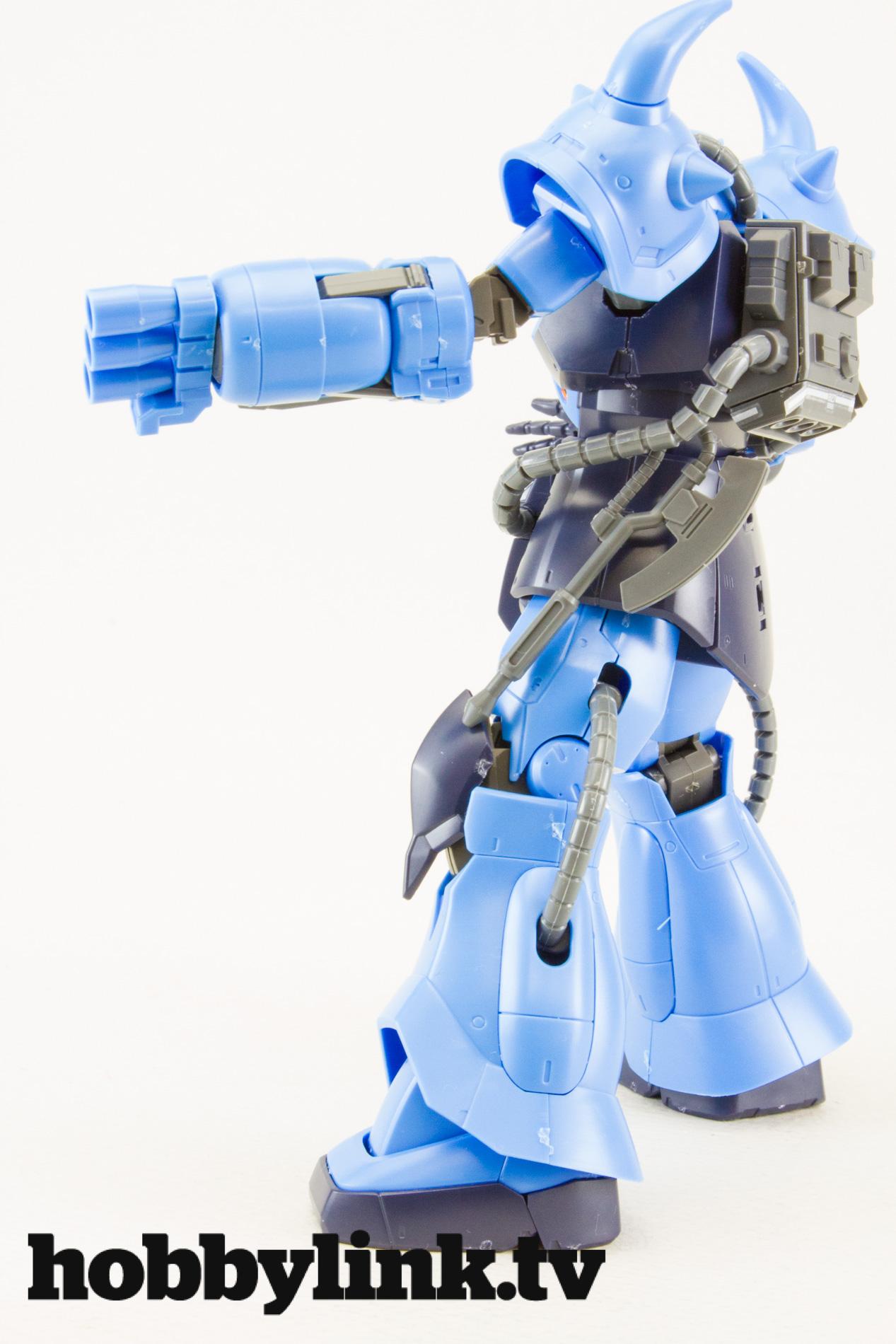 ... 144 hg prototype gouf tactical demonstrator frame robo gaia frame