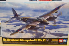 1/32 de Havilland Mosquito FB Mk.VI by Tamiya – Part One – Unboxing