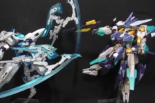 1/100 Frame Arms Versus Set by Kotobukiya (Part 2: Review)