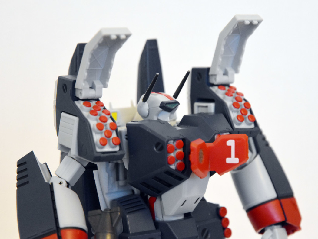 HI-METAL R VF-1J Armored Valkyrie by Bandai (Part 2: Review)