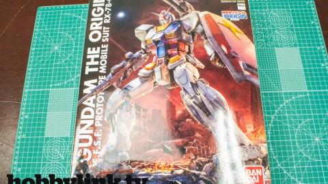 1-100 MG THE ORIGIN RX-78-02 Gundam by Bandai-1
