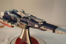 1/4000 SDF-1 Macross Cruiser Fortress w/ Prometheus & Daedalus by Hasegawa – Part Two – Build